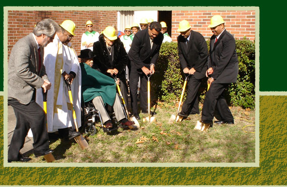 groundbreaking for st. martin de porres catholic church in columbia, sc